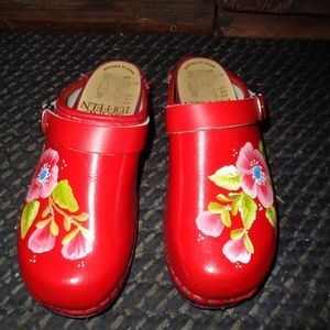 Skane Toffeln Woode 34 Clogs Sweden